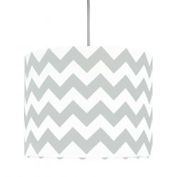 Young Deco - Lampa Sufitowa Mini Chevron Szara