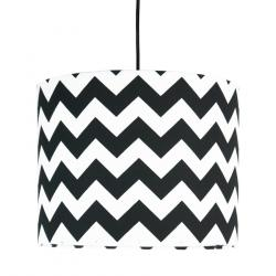 Young Deco - Lampa Sufitowa Mini Chevron Czarna