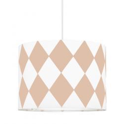 Young Deco - Lampa Sufitowa Mini Różowe Romby