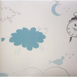 Tapeta Bedtime Niebieski OZ7811