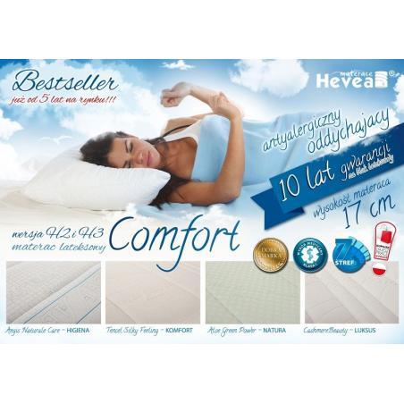 Materac Hevea Comfort H2 lateksowy 200x160