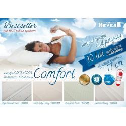 Materac Hevea Comfort H2 lateksowy 200x180