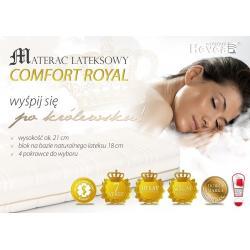 Materac Hevea Comfort Royal lateksowy 200x180