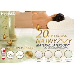 Materac Hevea Prestige lateksowy 200x80