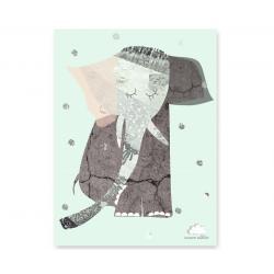 Humpty Dumpty Plakat Lady Elephant