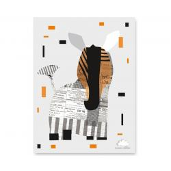 Humpty Dumpty Plakat Eco Zebra