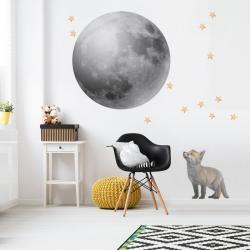 Naklejka Nad Mebelki Księżyc w Pełni