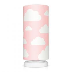 Lamps&Co Lampka Nocna Chmurki Pink