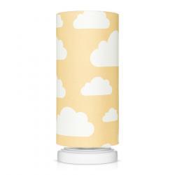 Lamps&Co Lampka Nocna Chmurki Mustard
