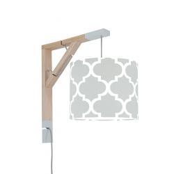 Young Deco - Lampa Simple Koniczyna Marokańska Szara