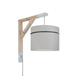 Young Deco - Lampa Simple Porcelanowy Szary