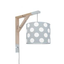 Young Deco - Lampa Simple Grochy na Szarym