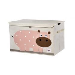 3 Sprouts Pudełko Zamykane Hipopotam