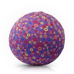 BubaBloon Piłka Balonowa Circles Purple