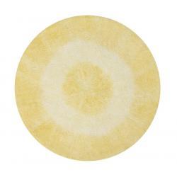 Dywan Tie-Dye Yellow