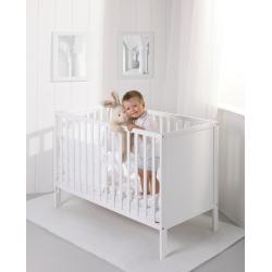 Troll Nursery - Eco Panel Łóżeczko 120x60 (k.biały)