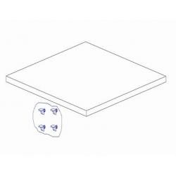 Pinio Mini - Dodatkowa Półka Do Szafy Dwudrzwiowej
