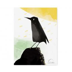 Humpty Dumpty Plakat Black Bird