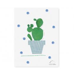 Humpty Dumpty Plakat Cactus Blue Dots
