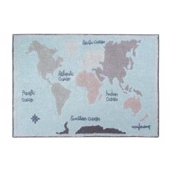 Dywan Vintage Map