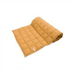 Cotton&Sweets Lniana Pikowana Derka Karmel 60x120