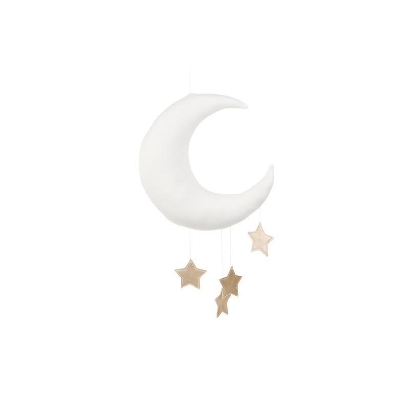 Cotton&Sweets Księżyc Dekoracyjny Biały