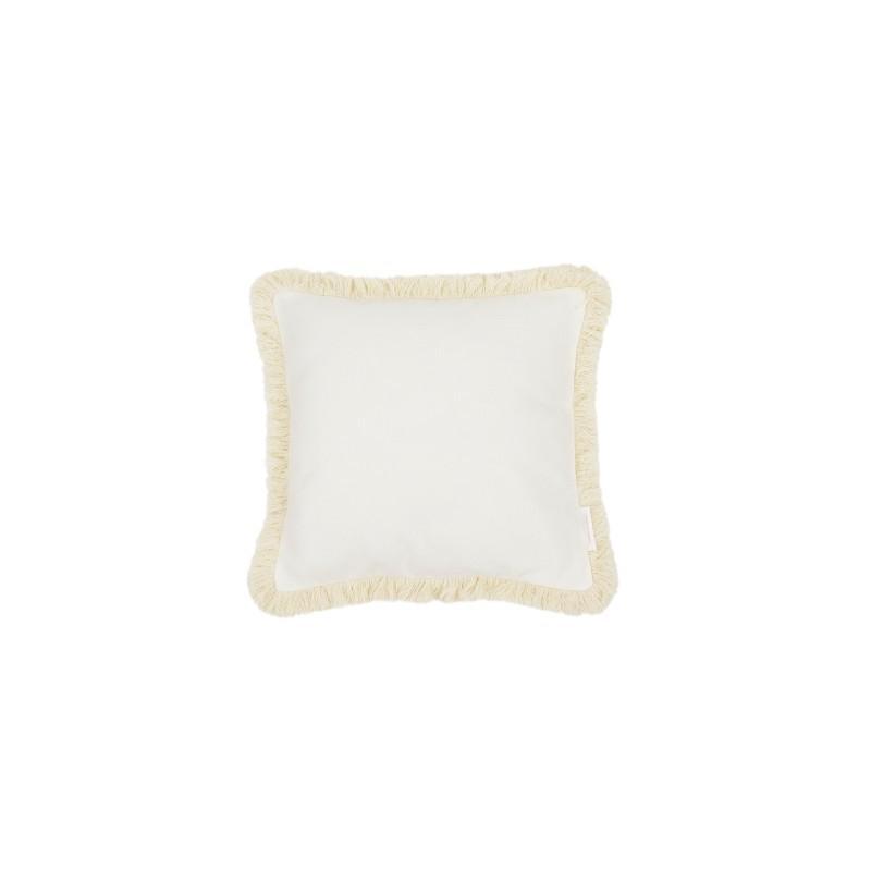 Cotton&Sweets Kwadratowa Poduszka Boho z Ramką