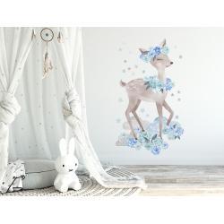 Naklejka Sarenka Niebieska