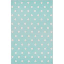 KidsLoveRugs Dywan Dots Mint-White 120x170cm
