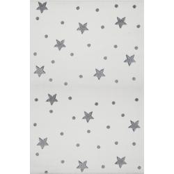 KidsLoveRugs Dywan Galaxy Creme-Grey 120x170cm