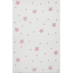 KidsLoveRugs Dywan Galaxy Creme-Pink 120x170cm