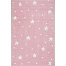 KidsLoveRugs Dywan Galaxy Pink-White 120x170cm