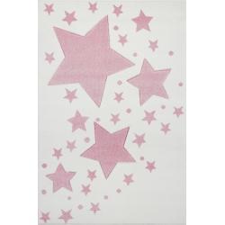 KidsLoveRugs Dywan Milky Way Cream-Pink 120x180cm