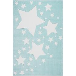 KidsLoveRugs Dywan Milky Way Mint-White 120x170cm