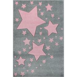 KidsLoveRugs Dywan Milky Way Grey-Pink 120x170cm