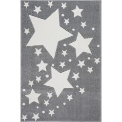 KidsLoveRugs Dywan Milky Way Grey-White 120x170cm