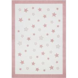 Dywan Pastel Frame Pink