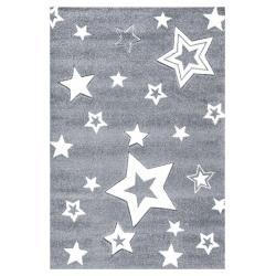 Dywan Star Light Grey White