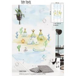 Mural Tipi Time INK 7006