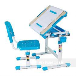 Bambino Blue Regulowane Biurko + Krzesełko dla Dzieci