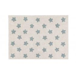 Dywan Stars Natural Vintage Blue