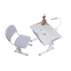 Cubby Lupin Grey Regulowane Biurko + Krzesełko dla Dzieci
