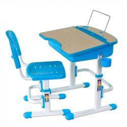 Capri Blue Regulowane Biurko + Krzesełko dla Dzieci
