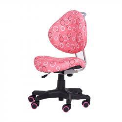 SST5 Krzesełko Dziecięce z Regulacją Wysokości Różowe