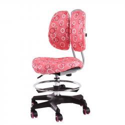 SST6 Krzesełko Dziecięce z Regulacją Wysokości Różowe