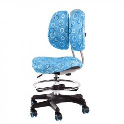SST6 Krzesełko Dziecięce z Regulacją Wysokości Niebieskie