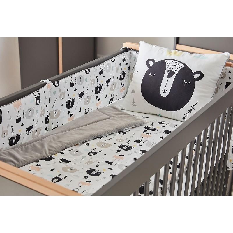 Pinio Bears Ochraniacz Do łóżeczka 120x60 Od Firmy Pinio
