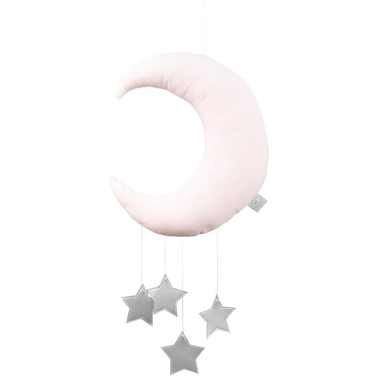 Cotton&Sweets Księżyc Dekoracyjny Słodki Róż