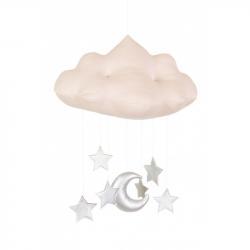 Cotton&Sweets Chmurka Dekoracyjna Pudrowy Róż