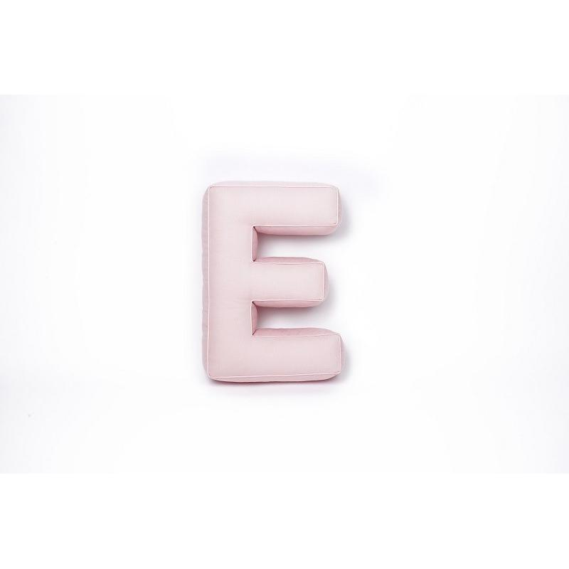 Betty's Home Poduszka Litera E Różowa